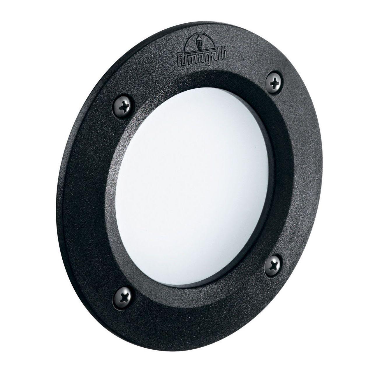 Уличный светодиодный светильник Ideal Lux Leti FI1 Round Nero ideal lux уличный светодиодный светильник ideal lux leti round fi1 grigio