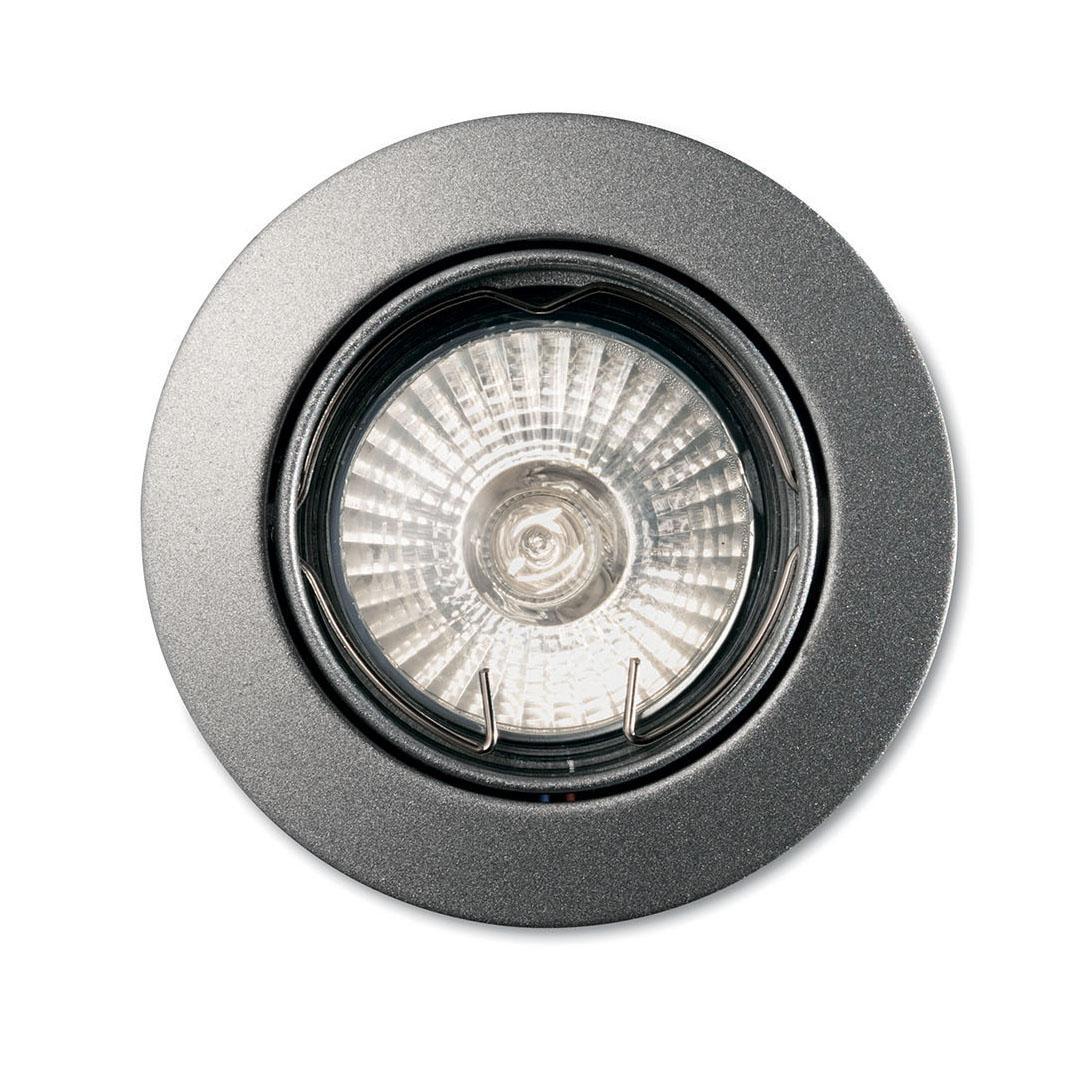 Встраиваемый светильник Ideal Lux Swing Alluminio ideal lux встраиваемый светильник ideal lux swing bianco