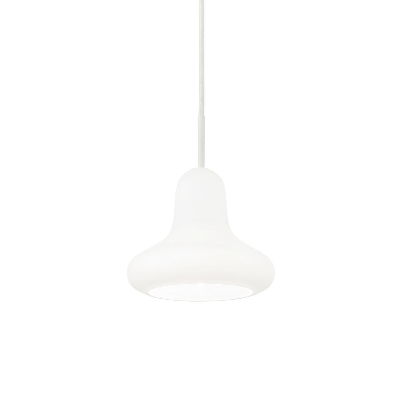 Подвесной светильник Ideal Lux Lido-1 SP1 Bianco подвесной светильник ideal lux lido 1 sp1 bianco