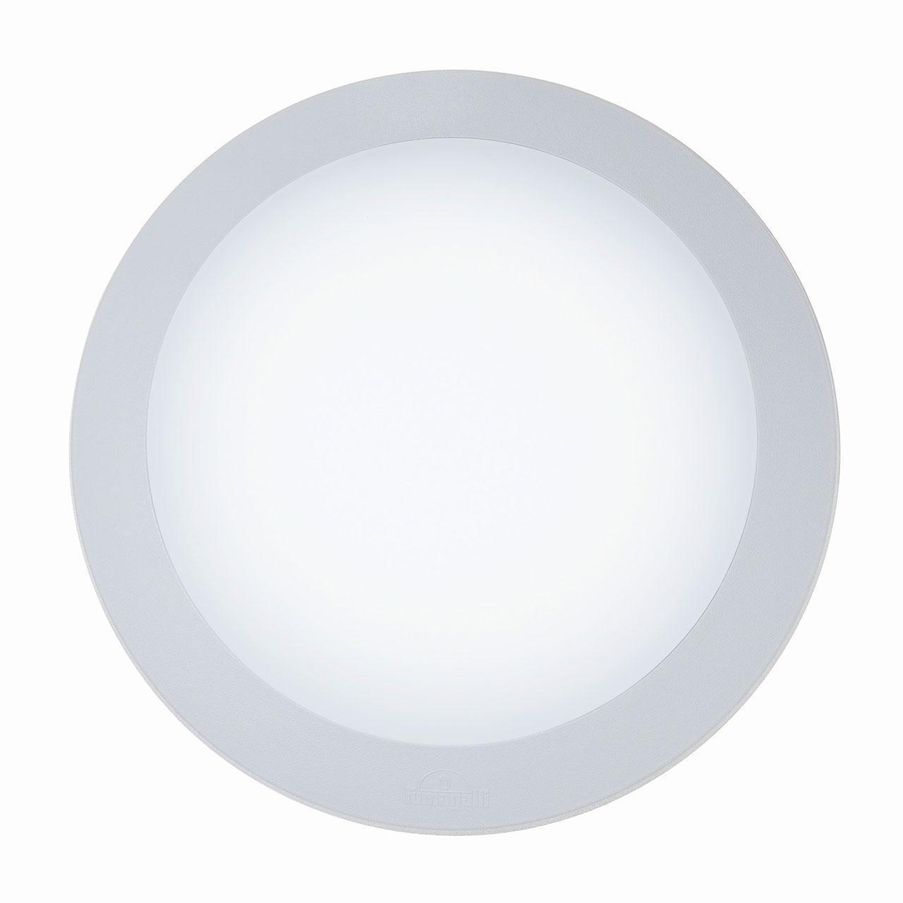 Уличный настенный светодиодный светильник Ideal Lux Berta AP1 Big Bianco ideal lux уличный настенный светодиодный светильник ideal lux berta ap1 big grigio