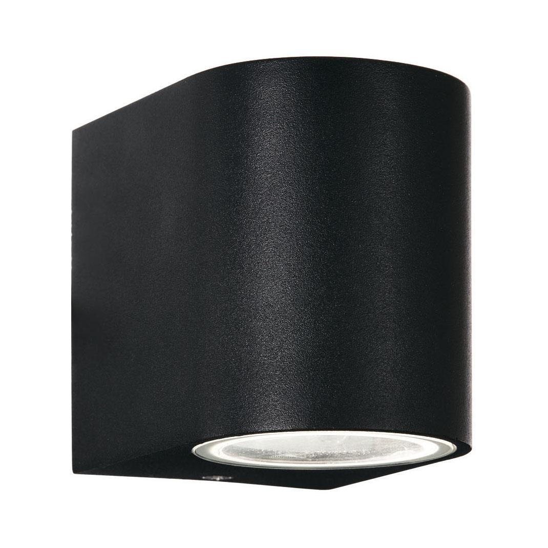 Уличный настенный светильник Ideal Lux Astro AP1 Nero ideal lux уличный настенный светильник ideal lux twin ap1 nero