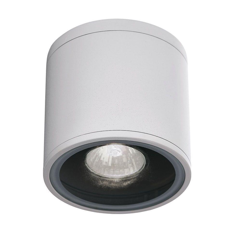 Уличный светильник Ideal Lux Gun PL1 Bianco ideal lux бра ideal lux audi 51 pl1 d23 bianco