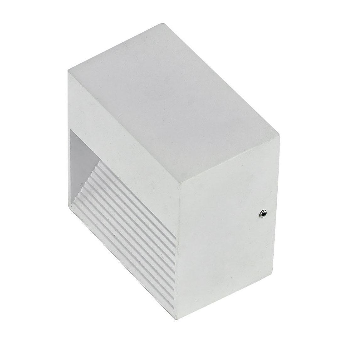 Уличный настенный светильник Ideal Lux Down AP1 Bianco ideal lux настенный спот ideal lux zenith ap1 bianco