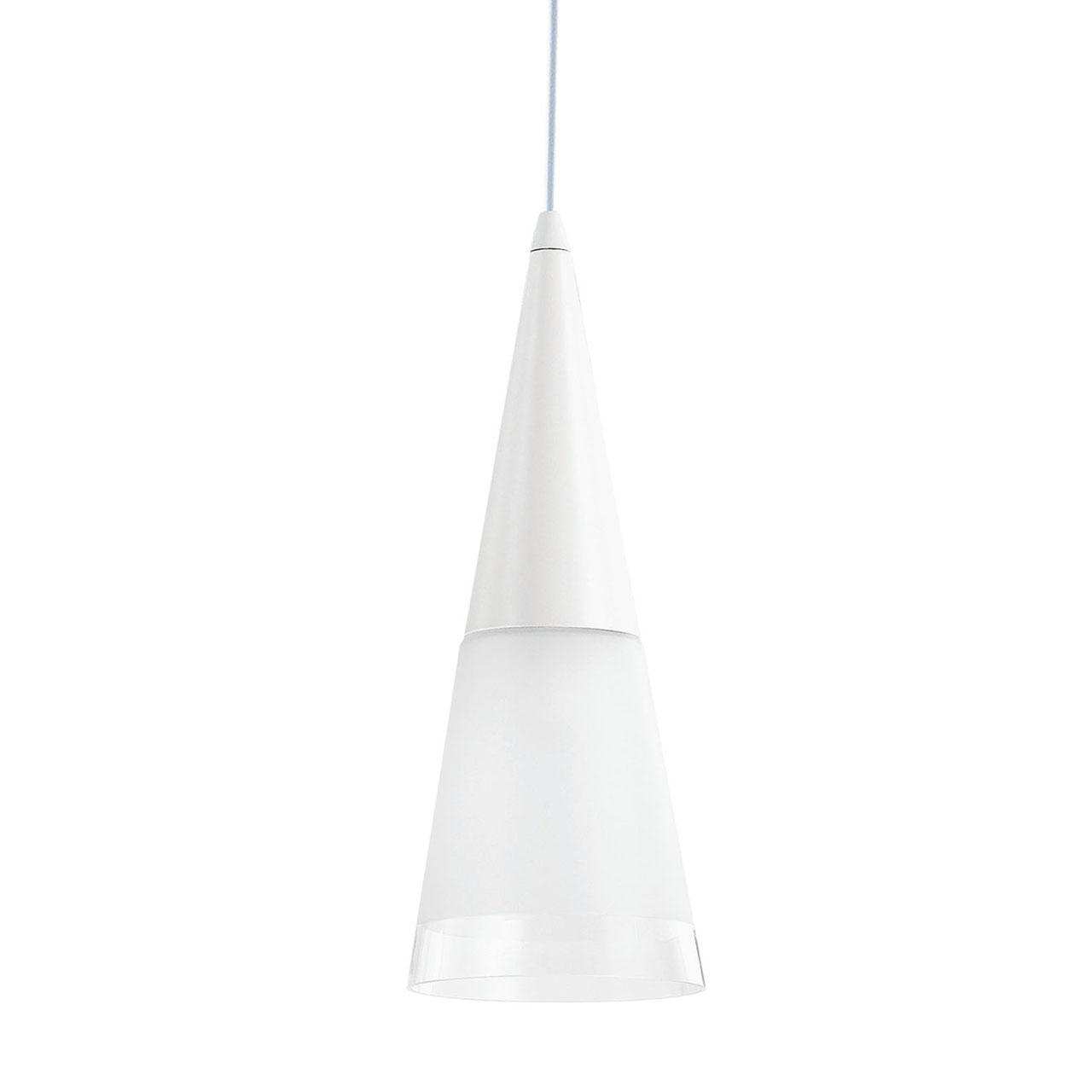 Подвесной светильник Ideal Lux Cono SP1 Bianco светильник ideal lux cono cono sp4 cromo