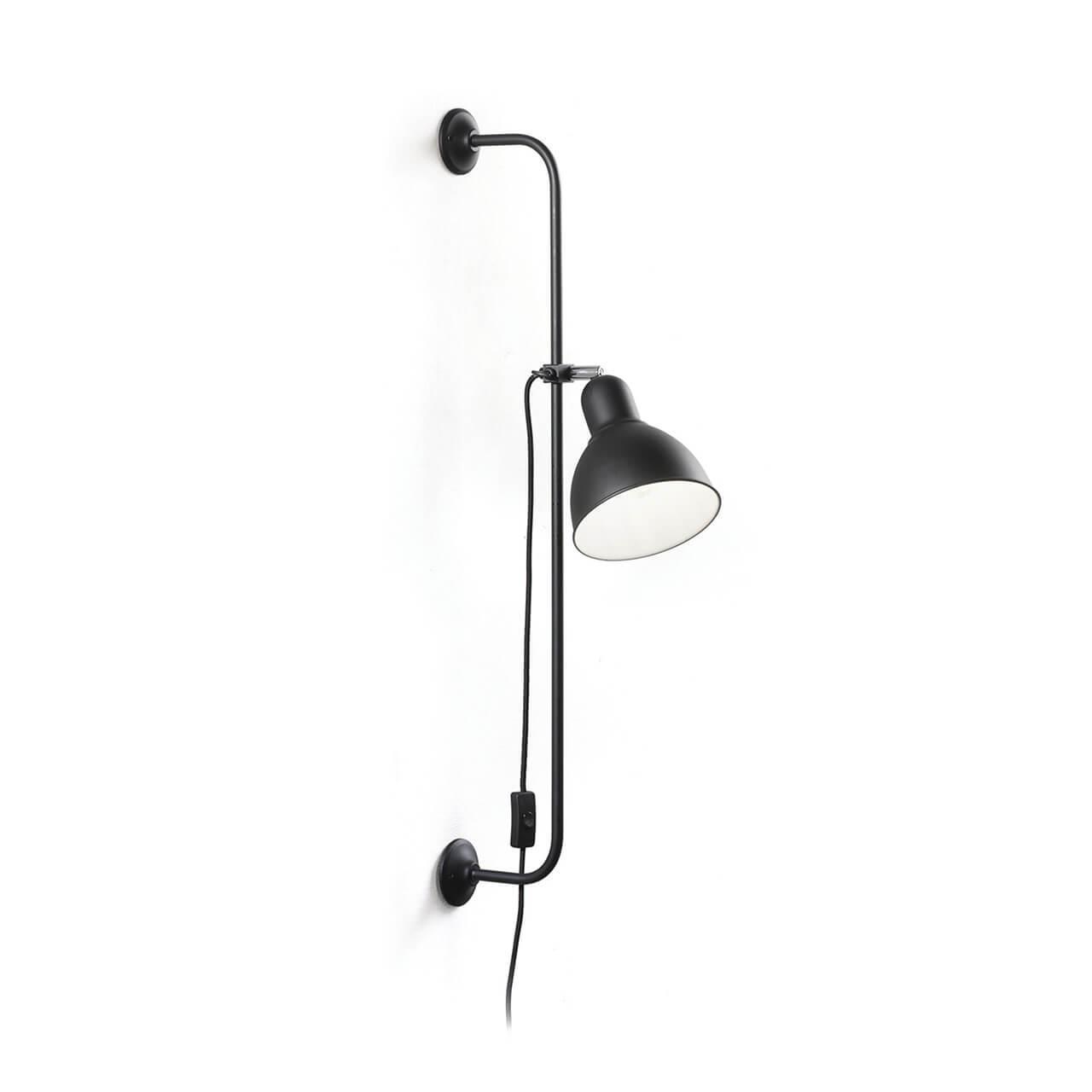 Спот Ideal Lux Shower AP1 Nero спот ideal lux page ap1 round nero