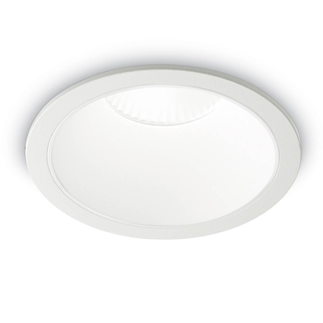 Встраиваемый светодиодный светильник Ideal Lux Game Round White White