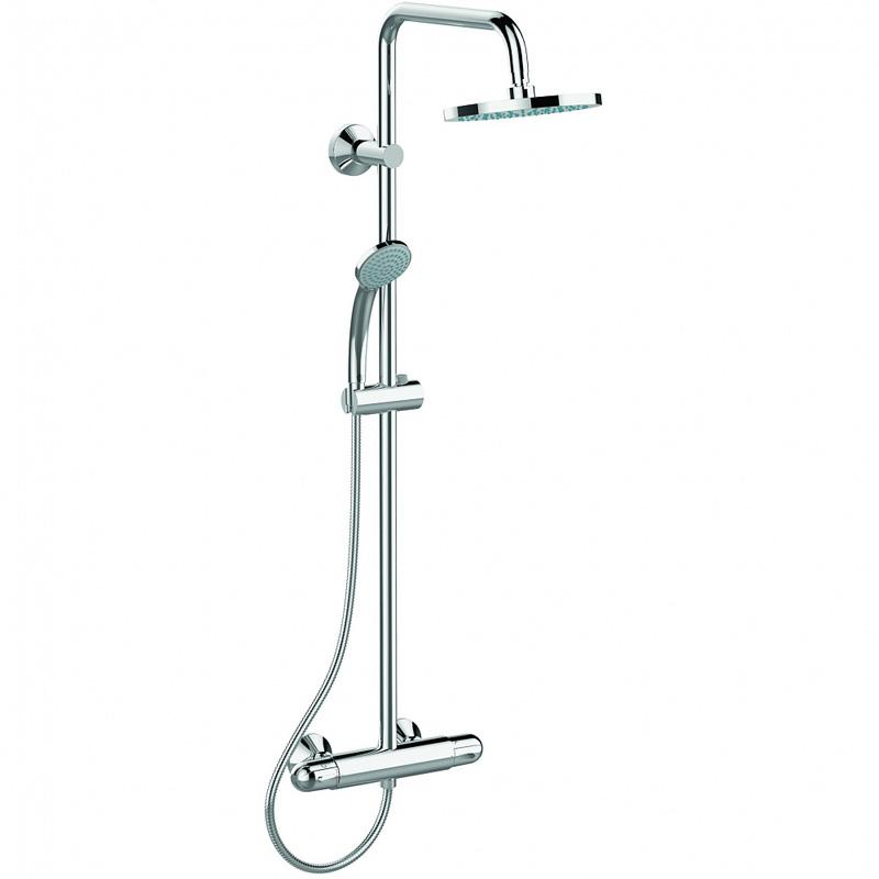 Душевая стойка Ideal Standard IdealRain Eco A6421AA b1097аа idealrain eco душевая система
