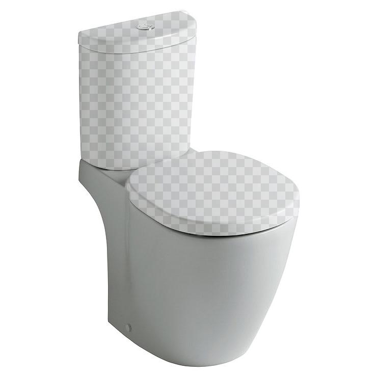 Ideal Standard Connect Spase E119501 чаша крышка сиденье для унитаза ideal standard ecco w303001