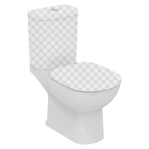 Ideal Standard Tempo T331201 чаша крышка сиденье для унитаза ideal standard ecco w303001
