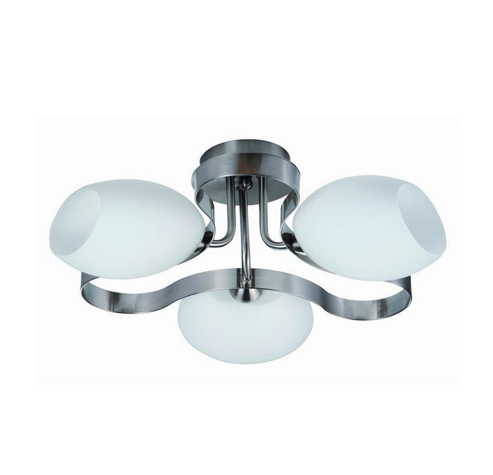 Люстра IDLamp Martha 601/3PF-SUNWhitechrome потолочная цены онлайн