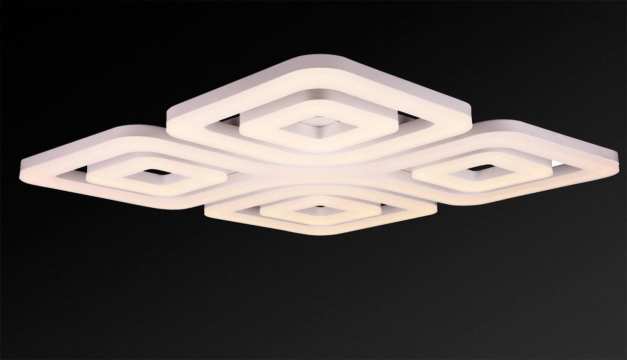 Потолочный светодиодный светильник IDLamp Cosma 395/7PF-LEDWhite idlamp 396 7pf ledwhite
