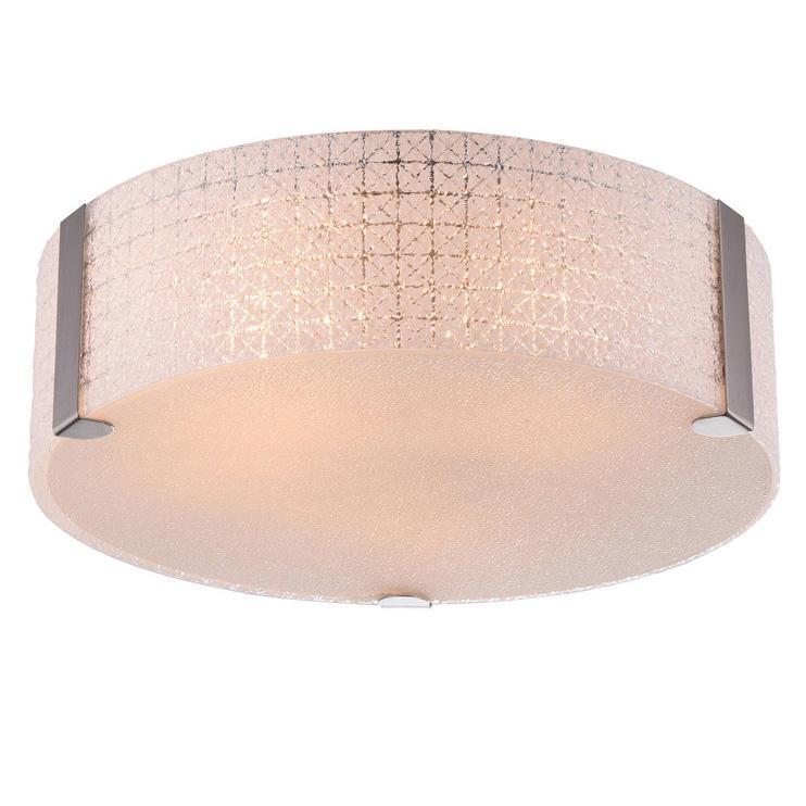 Потолочный светильник IDLamp Clara 247/40PF-Whitechrome недорго, оригинальная цена