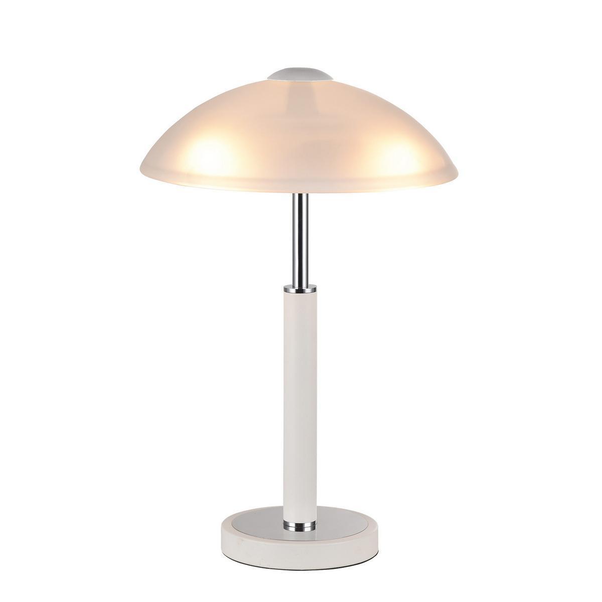 Настольная лампа IDLamp Petra 283/3T-Whitechrome