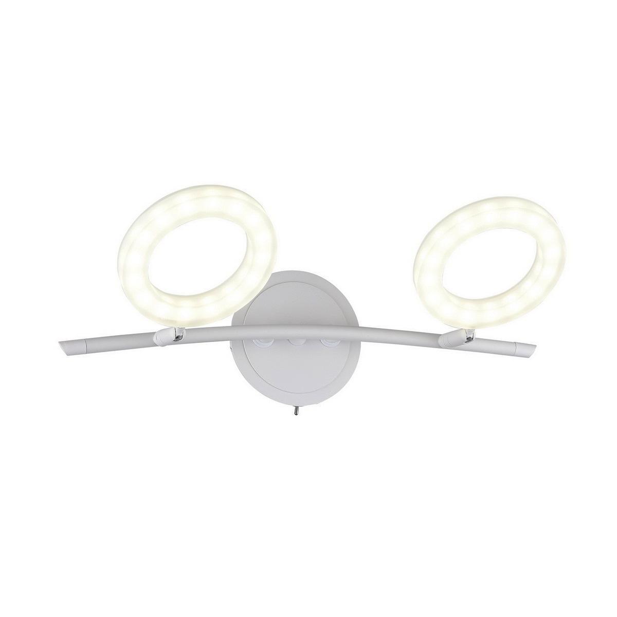Светодиодный спот IDLamp Naet 105/2A-LEDWhitesand светодиодный спот idlamp naet 105 2a ledwhitesand