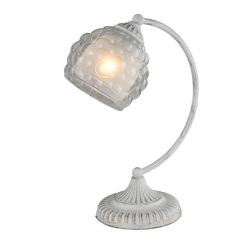 Настольная лампа IDLamp Bella 285/1T-Whitepatina