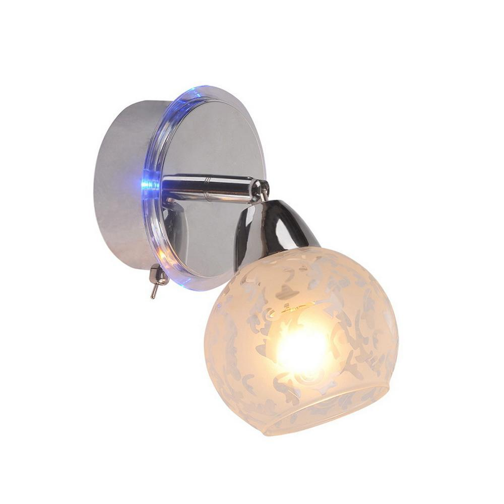 Спот IDLamp Azzerra 200/1A-Chrome бра idlamp 351 1a chrome