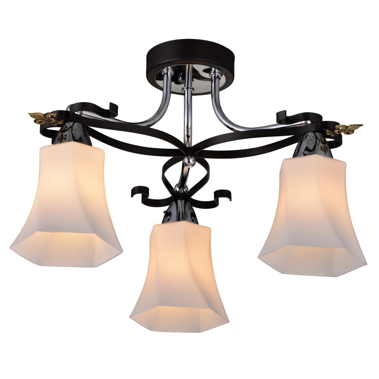 Люстра IDLamp Monga 849/3PF-Dark потолочная потолочная люстра idlamp zita 867 3pf dark