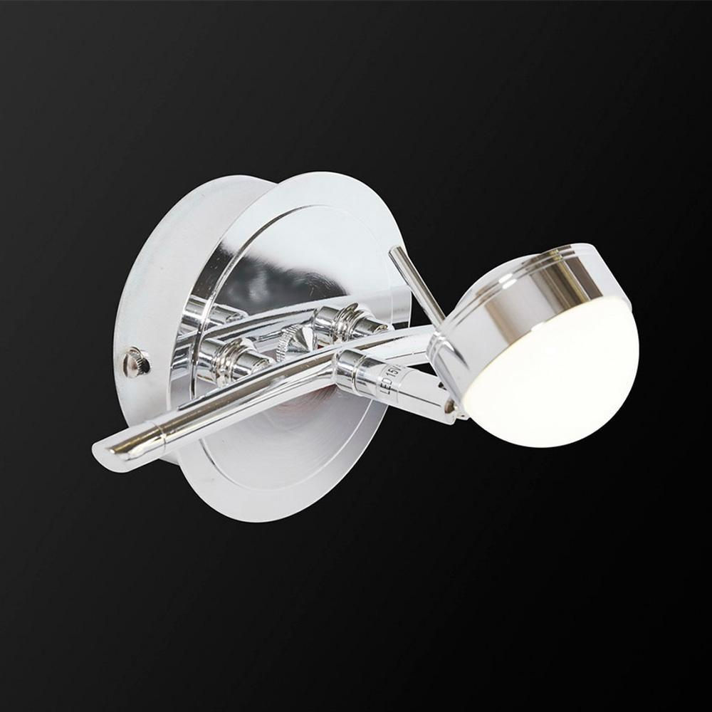 Спот IDLamp Savini 348/1A-Chrome спот idlamp savini 348 3a chrome