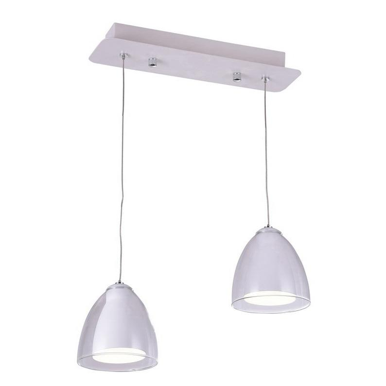 Подвесная люстра IDLamp Mirella 394/2-LEDWhite цены онлайн