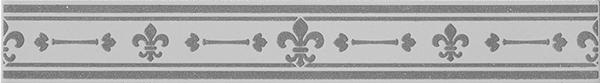 Бордюр Imola Ceramica Anthea +14625 L. Giglio W бордюр keros ceramica varna cen roses 5х50