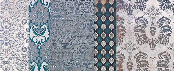 Декор Impronta Shine 17489 Batik Turchese Dec.C декор impronta ceramiche square wall bianco formel oro 12 5x25