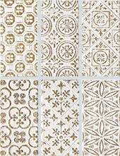 Декор Impronta Square Wall 21410 Bianco Formel.Oro Dec. декор impronta ceramiche white experience wall cube velluto 32x96 2