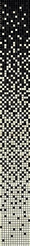 Мозаика Impronta Marmol D 8672 Digit Travertino Bianco Mosaico Sfumato декор impronta ceramiche square wall bianco formelle 12 5x25