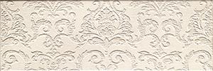 Настенная плитка Impronta Couture 21405 Ivoire Arabesque вставка impronta ceramiche scrapwood fire tozzetto sq 5x15