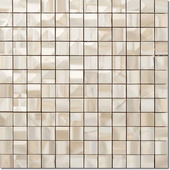 Настенная плитка Impronta Onice D 9414 Beige Agata Mosaico декор impronta ceramiche square wall blu formelle glitter 12 25x25