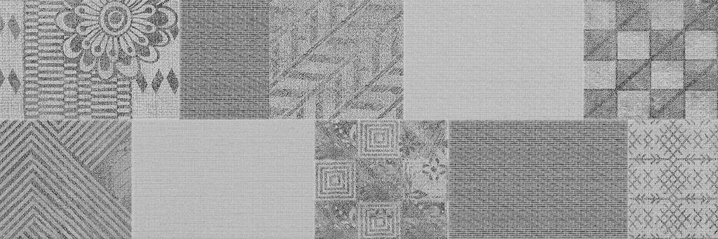 Настенная плитка ITT Ceramic Decor Pathwork Grey 20х60 цена