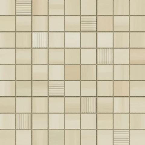 Мозаика ITT Ceramic Mosaico Pleasure Beige 31,6х31,6 ручка дверная morelli diy 02р sn cp никель белый хром