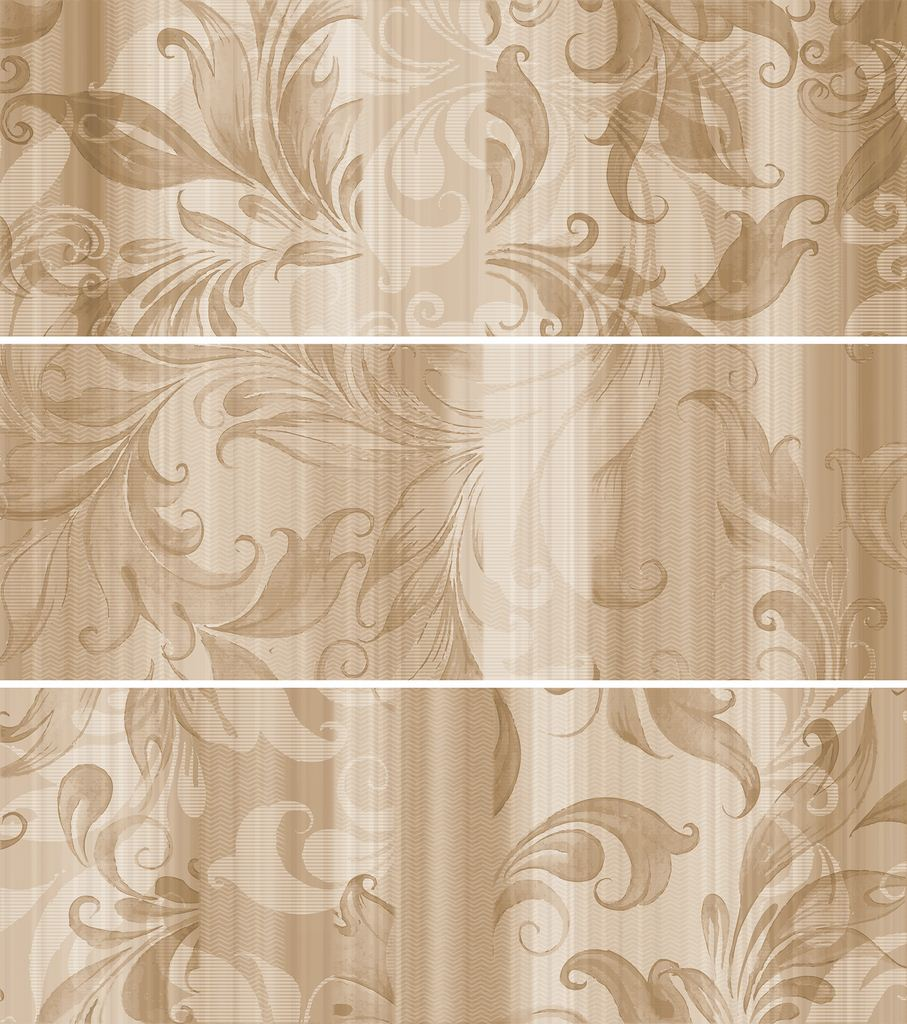 Настенная плитка ITT Ceramic Decor Aqua Beige 20х60 cristacer miracle decor melina beige 20x60