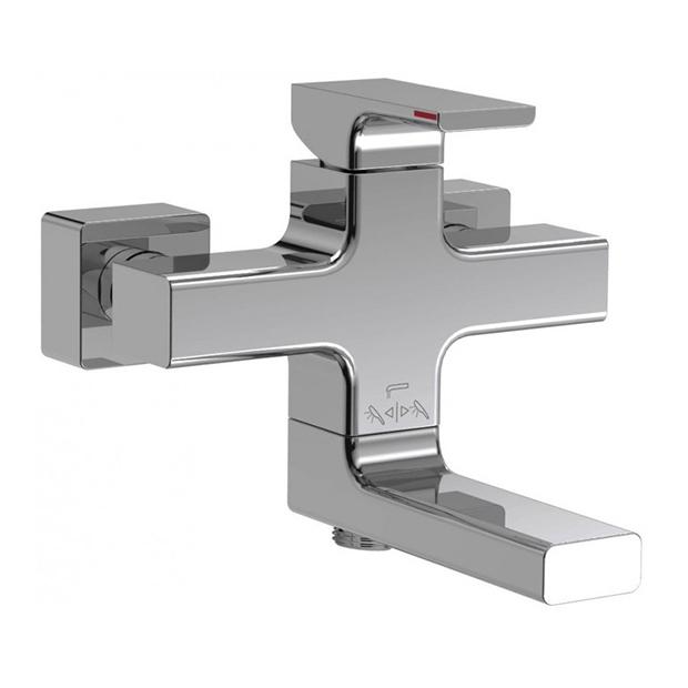 Смеситель Jacob Delafon Strayt E45370-CP для ванны смеситель jacob delafon strayt для ванны e45370 cp