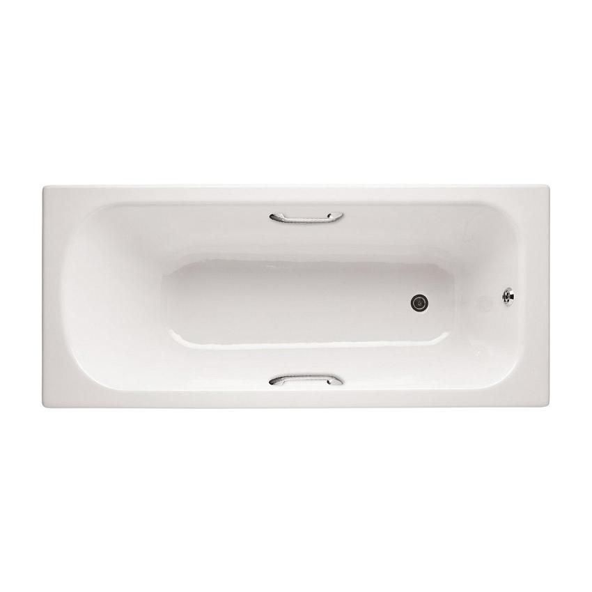 Чугунная ванна Jacob Delafon Catherine E2953-F 170x75 jacob delafon diapason 170x75 с отверстиями для ручек e2926