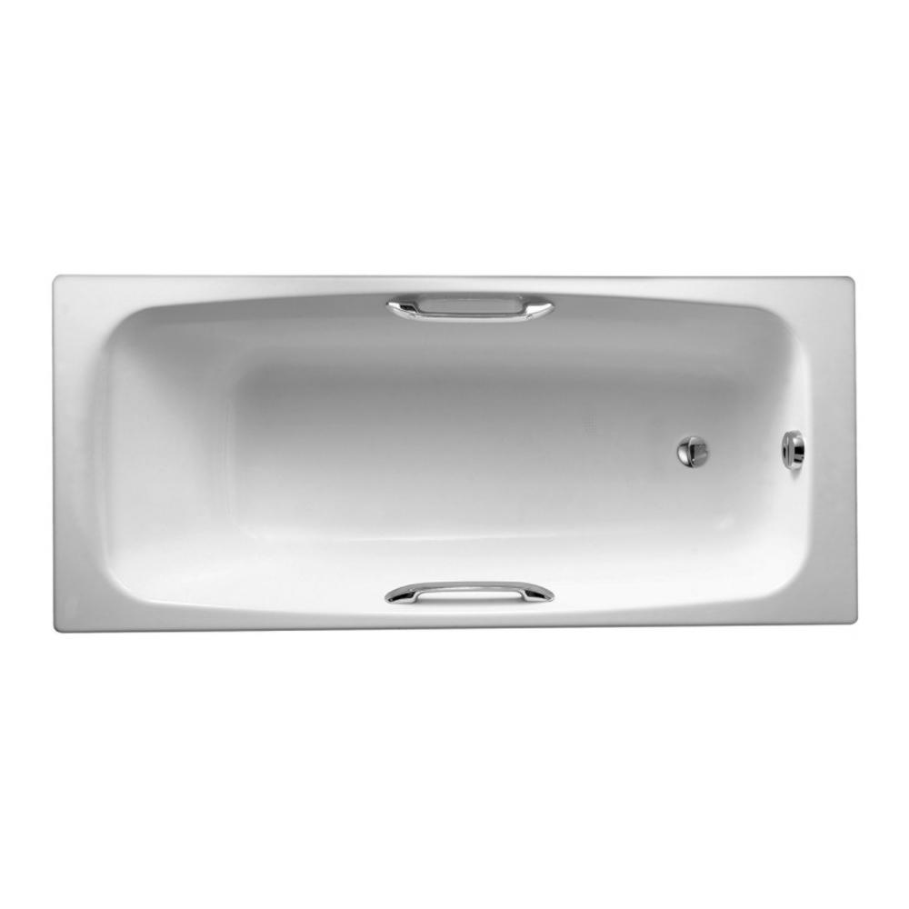 Чугунная ванна Jacob Delafon Diapаson E2926 170x75 jacob delafon diapason 170x75 с отверстиями для ручек e2926