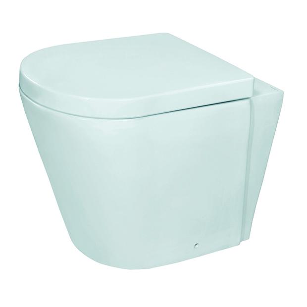 Приставной унитаз Jaquar Opal OPS-WHT-15955 с сиденьем дюропласт