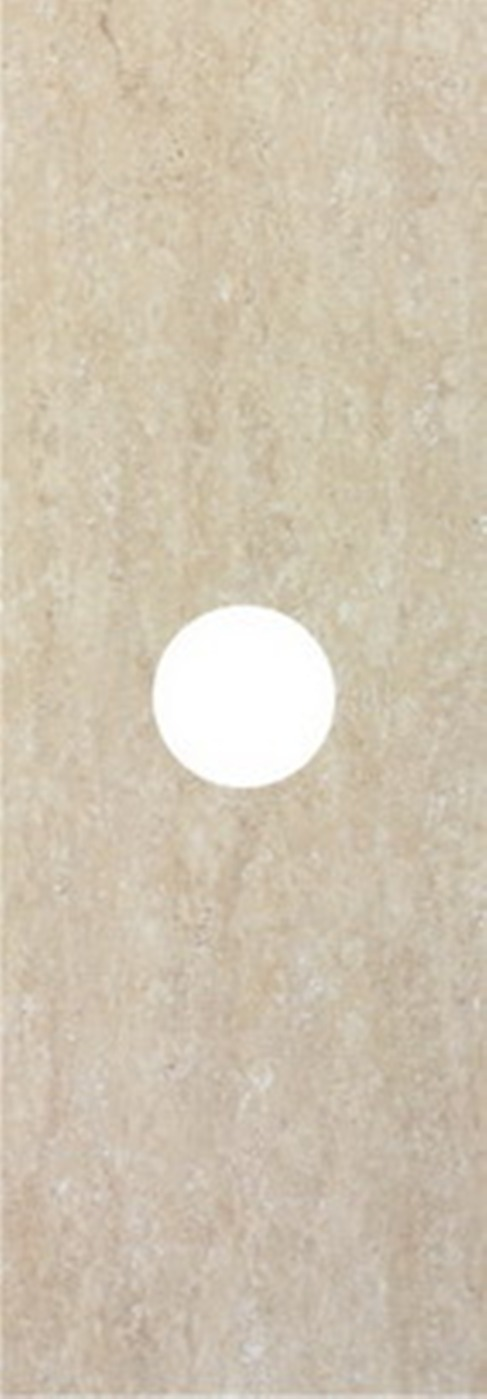 Декор Keraben Sybaris +9934 Ven. Travertino Crema colli suite travertino 32x75