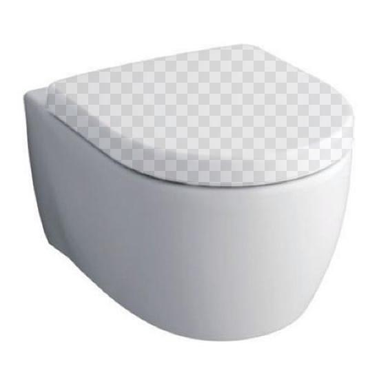 Подвесной унитаз KERAMAG iCon 204060 без сидения комплект унитаз rimfree подвесной keramag smyle 205570000 571540000 458 124 21 1