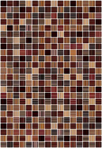 Гламур 3Т Плитка настенная коричневый 27,5х40 керамин плитка настенная керамин примавера 1т 40х27 5