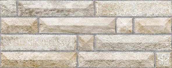 Вавилон 3 тип 1 Плитка настенная 20х50 вавилон 4 плитка настенная коричневый 20х50