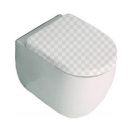 Приставной унитаз Kerasan Flo 3116 без сидения