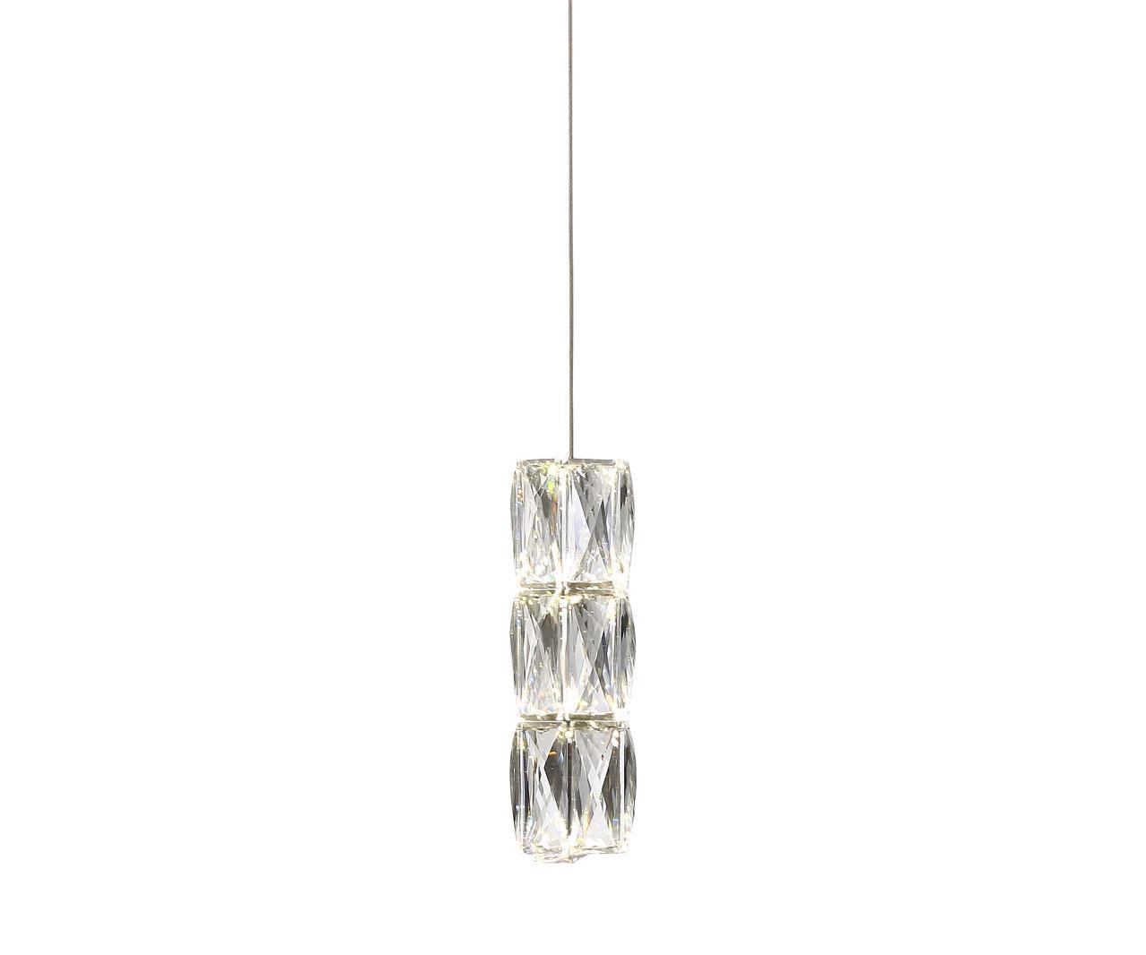 Подвесной светодиодный светильник Kink Light Аква-Кристалл 08620-1c kink light бра kink light аква кристалл 08620