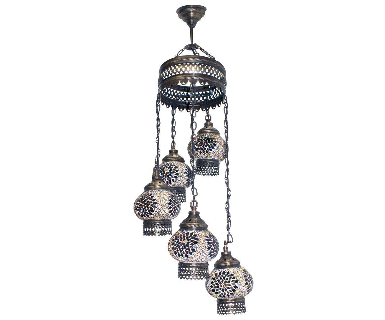 Подвесная люстра Kink Light Марокко 0512,04 бра kink light марокко 0815t 09