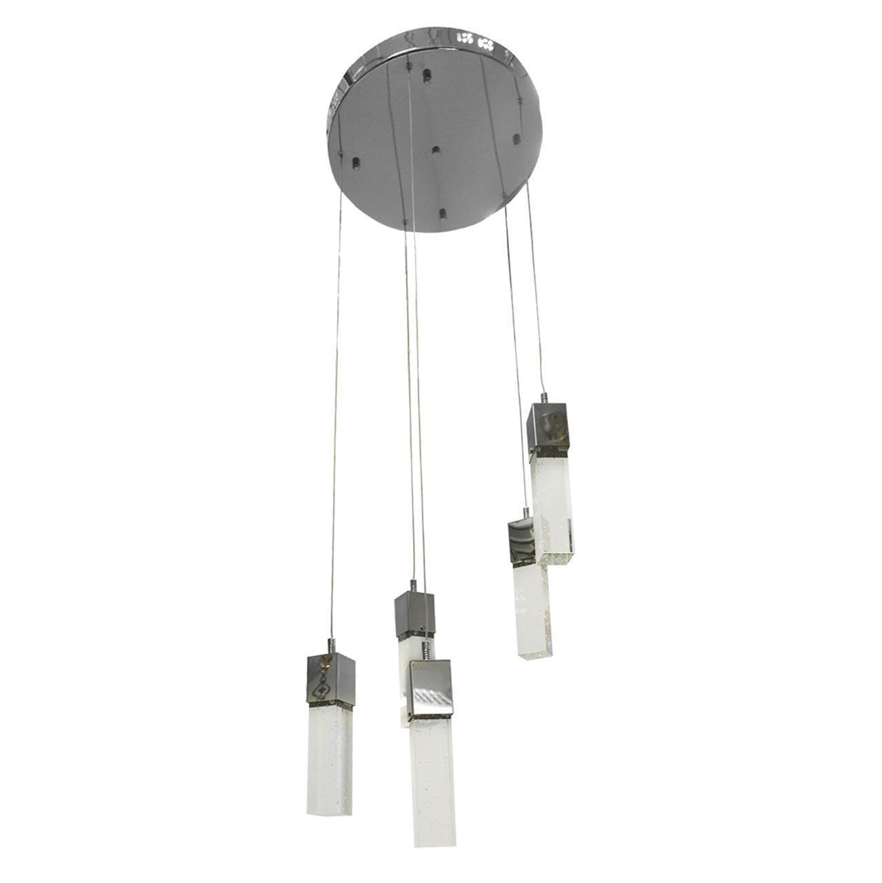 Подвесная светодиодная люстра Kink Light Аква 08510-5A(4000К) kink light подвесная люстра kink light бинокли 07840