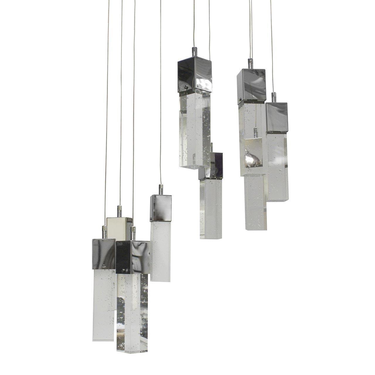 Подвесная светодиодная люстра Kink Light Аква 08510-9A(4000К) kink light подвесная люстра kink light бинокли 07840