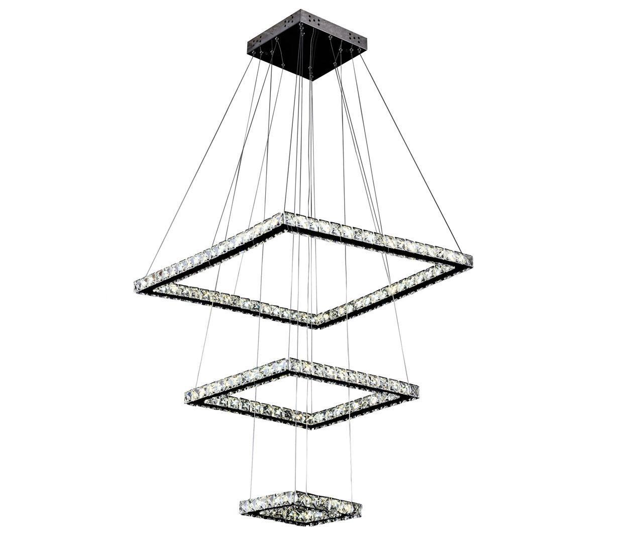 Подвесной светодиодный светильник Kink Light Тор-Кристалл 08603(3000-6000K)