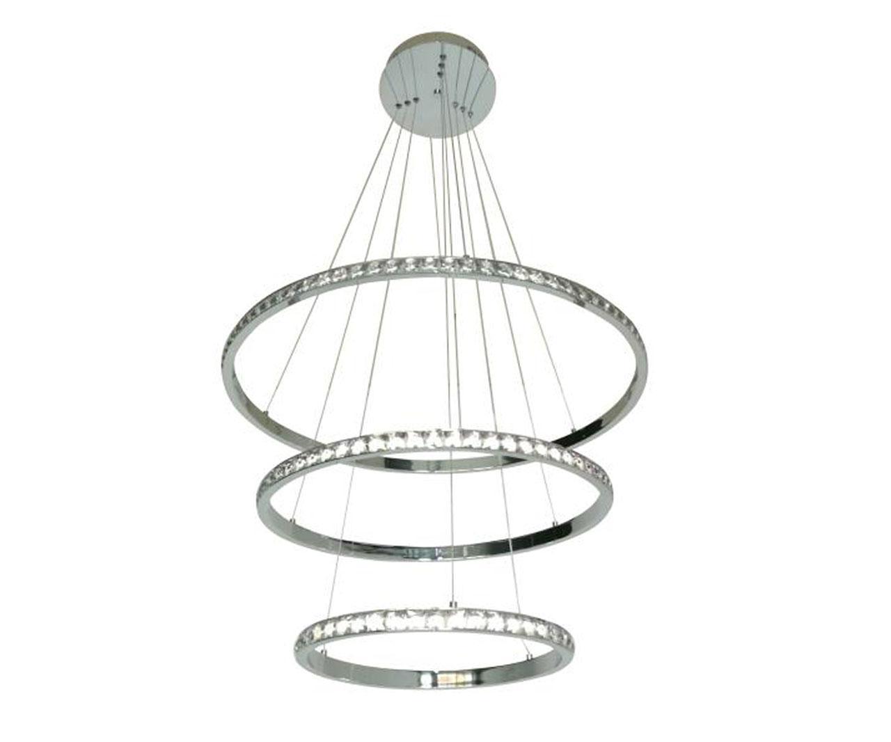Подвесной светодиодный светильник Kink Light Тор-Кристалл 08633
