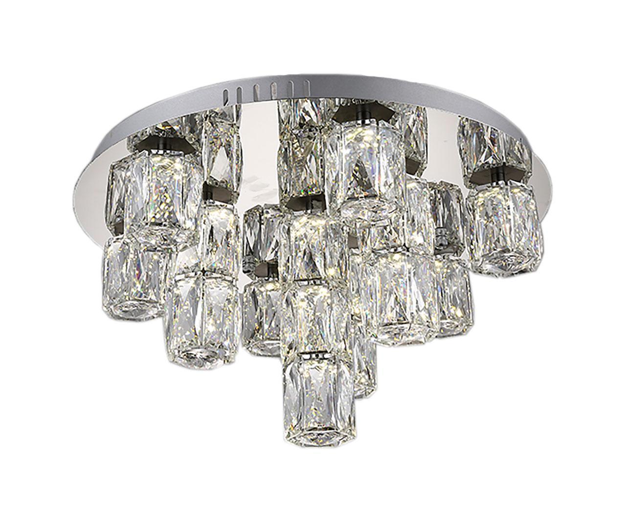 Потолочная светодиодная люстра Kink Light Аква-Кристалл 08620-10 kink light бра kink light аква кристалл 08620