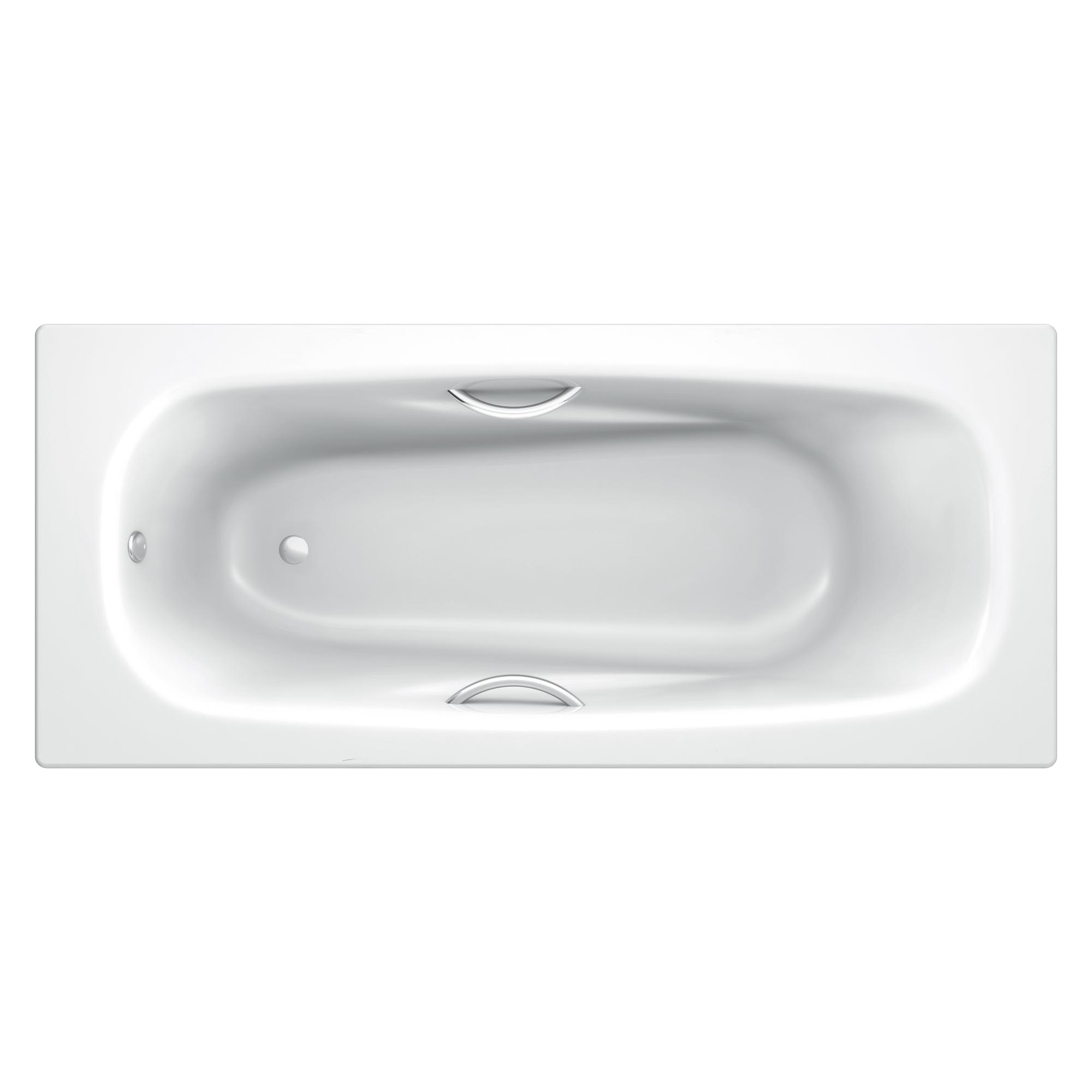 Стальная ванна Koller Pool Deline 170х75 с отв под ручки ванна стальная виз antika 170x70x40 с ножками с рантом a 70001