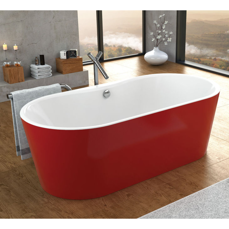 Акриловая ванна Kolpa san Comodo FS 185x90 red basis акриловая ванна kolpa rapido rapido basis 180 180x80
